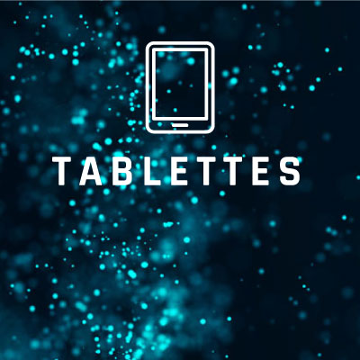 Tablettes durcies